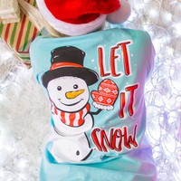 Let It Snow | Light Blue | Simply Southern