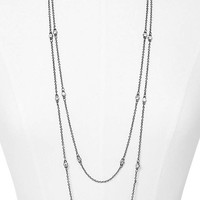 FACETED STONE NECKLACE from EXPRESS