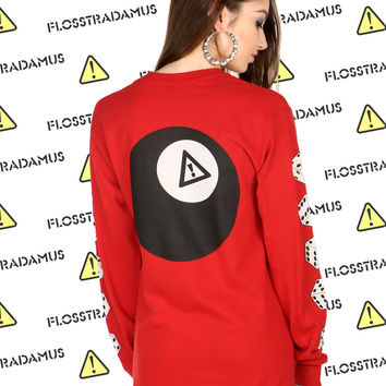 FLOSSTRADAMUS 8 BALL LONG SLEEVE