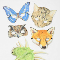 Urban Outfitters - Animal Mask - Pack Of 5