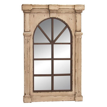 """Wall Accent Mirrors- Wood Wall Mirror 48""""H, 33""""W"""