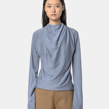 Light Long Sleeve Tee-Shirt in Lilac