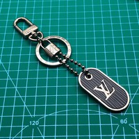 Louis Vuitton Lv Tab Bag Charm And Key Holder Blue M62788 - Best Online Sale