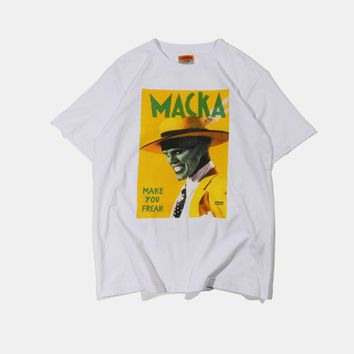 Incognito Masked Tee | White