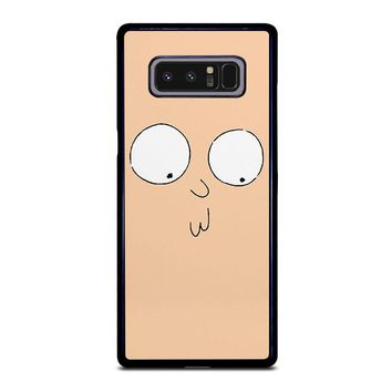 RICK AND MORTY STUPID FACE Samsung Galaxy Note 8 Case Cover