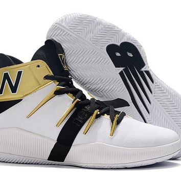 New Balance Leonard PE - White/Black/Gold
