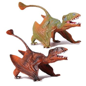 Action&Toy Figures Jurassic Standing Pterosauria Dragon Dinosaur PVC Toys Collection Model Plastic Doll Animal For Kids Gift