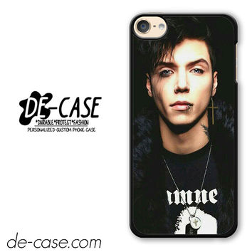 Andy Biersack Black Veil Brides Vocalist DEAL-766 Apple Phonecase Cover For Ipod Touch 6