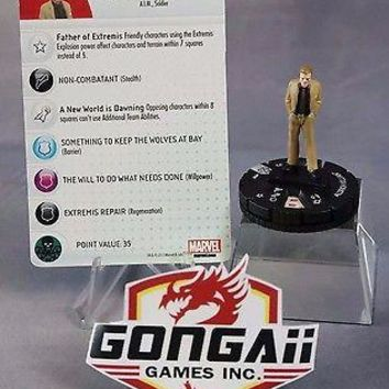 Heroclix DC Iron Man 3 Movie set Aldrich Killian #008 Gravity Feed