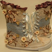 Wedding Boots by moovmint on Etsy