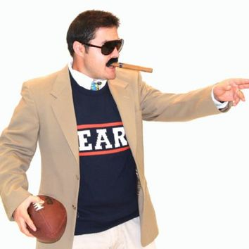SNL Da Bears Chicago Bears Adult Sweater and Vest|TV Store Online
