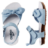 OshKosh Knot Bow Sandals