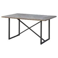 Wynnefield Mixed Material Trestle Dining Table - Threshold™