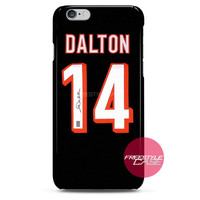 Andy Dalton Jersey Autograph iPhone Case 3, 4, 5, 6 Cover