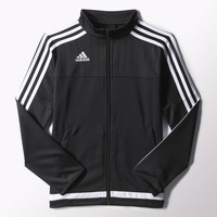 adidas Tiro 15 Training Jacket - Black | adidas US