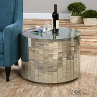 Ceanna Mirrored Coffee Table
