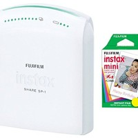 Fujifilm SP-1 Instax Share Smartphone Printer + 20 Sheets of Film