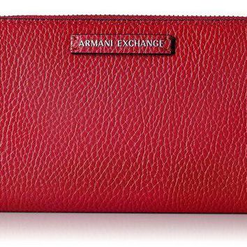 A|x Armani Exchange Large Wallet Wallet