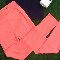 ON THE RUN ACTIVE PANTS IN CORAL