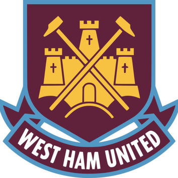 West Ham United Team Crest Iron on Screen Print fabric Machine Washable transfer | eBay