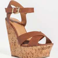 Spite-S Easy Ankle Strap Wedge