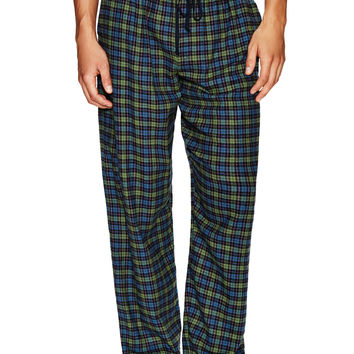 Ben Sherman Men's Check Lounge Pants - Green -