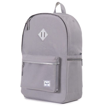 Herschel Supply Co.: Heritage Backpack Plus - Grey / 3M Rubber