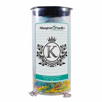 Letter K Monogram Bath Bombs