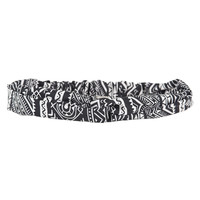 Tribal Headband - Black, One