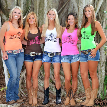 Cute dog baying hog girls hunting clothing