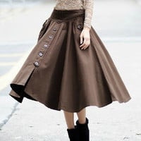 Expansion skirt for fall and winter