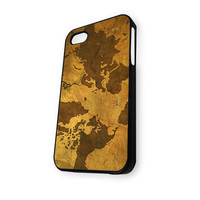 VintageWorld Map iPhone 5/5S Case