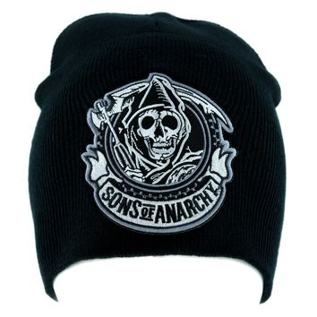Sons of Anarchy Reaper Beanie Knit Cap Alternative Clothing Biker Gang