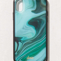 Sonix Luxe Marble Jade iPhone X Case | Urban Outfitters