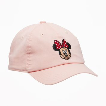Disney© Minnie Mouse Baseball Cap for Toddler Girls |old-navy