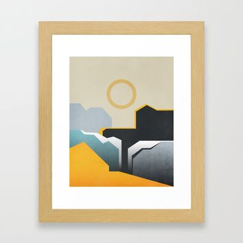 Abstract Architecture 06 Framed Art Print by marcogonzalez