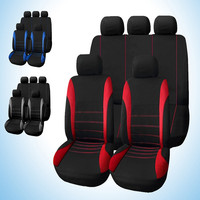 Universal Car Seat Covers 9 Set Full Car Styling Seat Sover for Crossovers Sedans Auto Interior Accessories