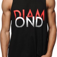Diamond Supply Co White Sands Tank Top