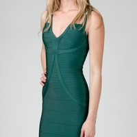 ANGL | Fitted Bandage Dress