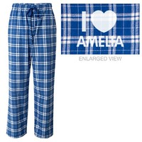 I love Amelia pajama pants