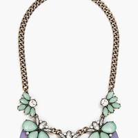 BaubleBar 'Lucite Persimmon' Bib Necklace