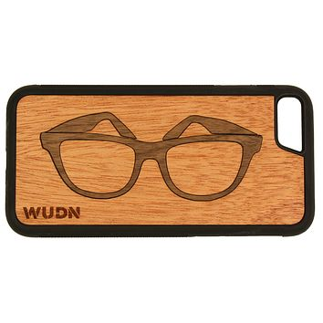 Slim Wooden Phone Case | Wayfarer Shades Traveler