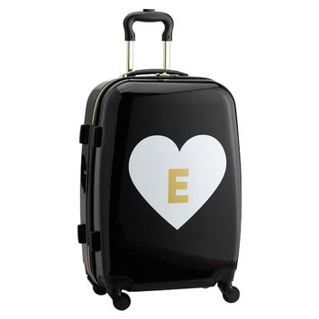 The Emily & Meritt Hard-Sided Carry-On Spinner, Heart Icon