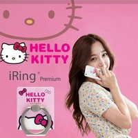 Hello Kitty iRing Premium Bunker Ring & Stand / Car Mount