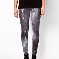 ASOS Maternity Leggings In Stargazer Print