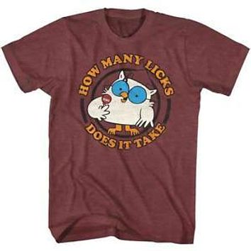 Tootsie Pop How Many Mens T-Shirt