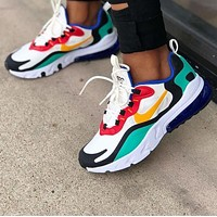 Nike NIKE AIR MAX 270 Woman Men Fashion Sneakers Sport Shoes