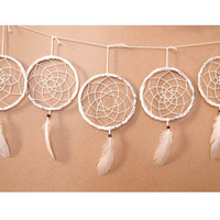 Wholesale!!! 5 Dream Catchers - Boho Home Decor, Nursery Mobile