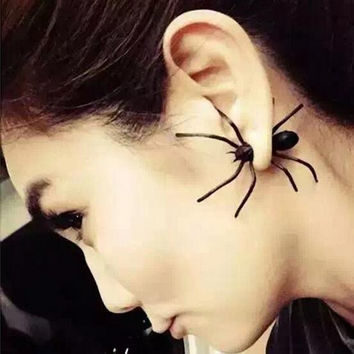 Spider Design Earrings