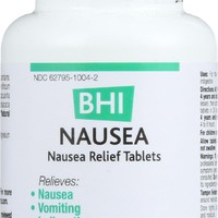 Bhi Nausea Relief - 100 Tablets